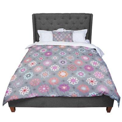 Jolene Heckman Mini Floral Comforter Size: Queen