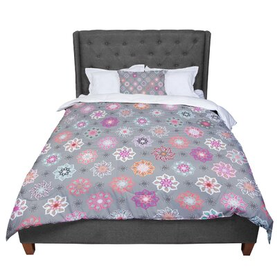 Jolene Heckman Mini Floral Comforter Size: King