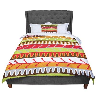 Jacqueline Milton Salsa - Comforter Size: King