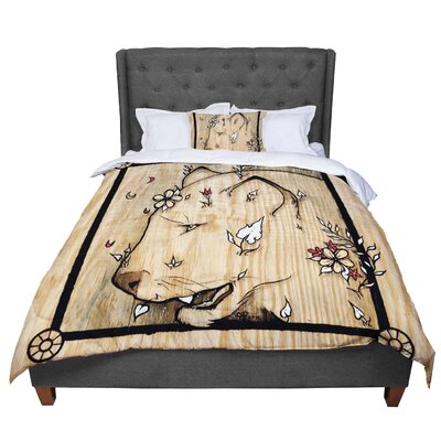Jennie Penny Panther Comforter Size: King