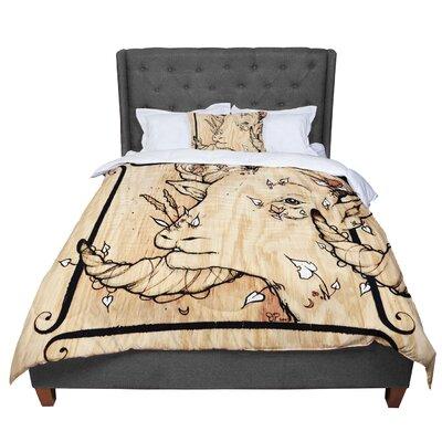 Jennie Penny Ram Comforter Size: Twin