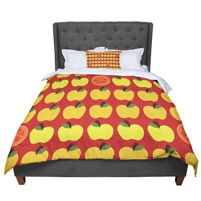 Jane Smith Seasons Autumn Comforter Size: King