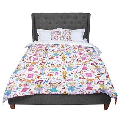 Jane Smith Vintage Playground IIII Comforter Size: King