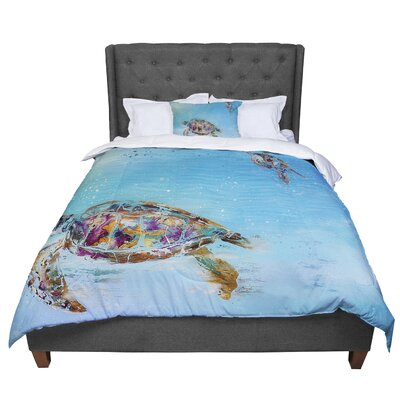 Josh Serafin Home Sweet Home Comforter Size: King