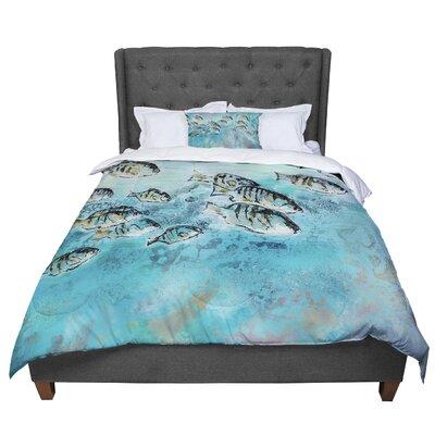 Josh Serafin Surf Perch Comforter Size: Twin