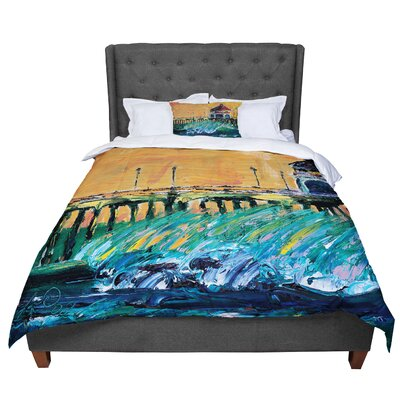 Josh Serafin Offshore Beauty Coastal Comforter Size: Queen