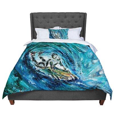 Josh Serafin Sponge Comforter Size: Queen