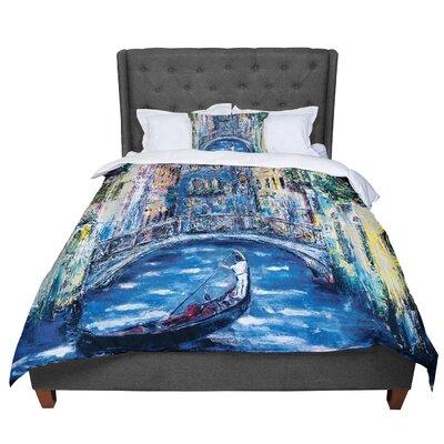 Josh Serafin Venice Travel Italy Comforter Size: Queen