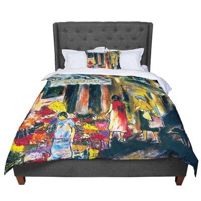 Josh Serafin Alimentari Comforter Size: Queen