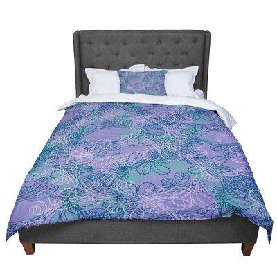 Patternmuse Jaipur Juniper Lavender Comforter Size: Queen
