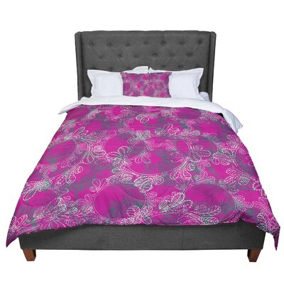 Patternmuse Jaipur Berry Comforter Size: Twin