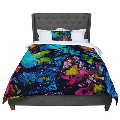 Abstract Anarchy Design Sharks Cove Comforter Size: King