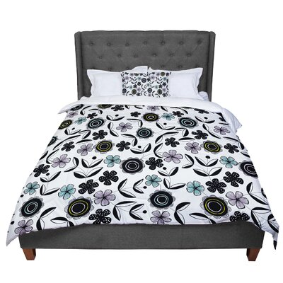 Jessica Wilde Artisan Floral Comforter Size: King