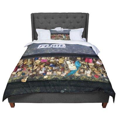 Luvprintz Jexiste Comforter Size: Twin