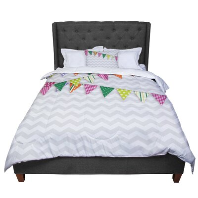 Flags 1 Comforter Size: Twin