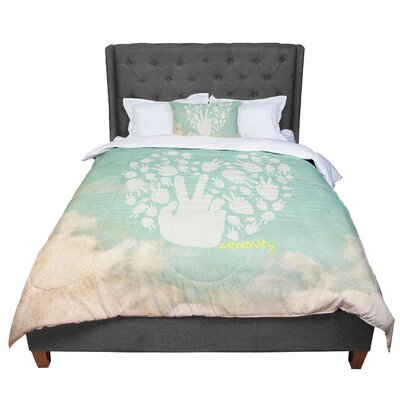 Serenity Comforter Size: Twin