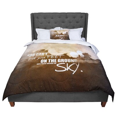 Touch the Sky Comforter Size: King