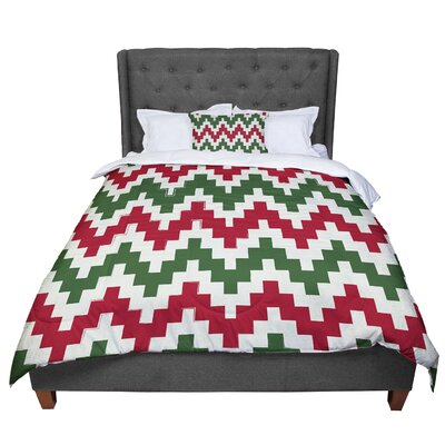 Christmas Comforter Size: Queen