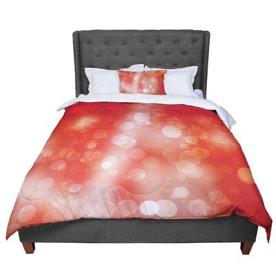 Passion Fruit Bokeh Comforter Size: Queen