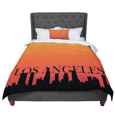 Los Angeles Comforter Size: King
