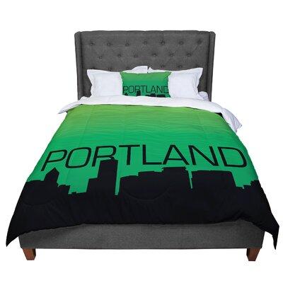 Portland Comforter Size: King
