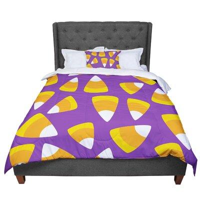 Kandy Korn Comforter Size: King