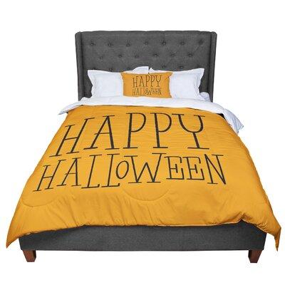 Happy Halloween Comforter Size: Queen