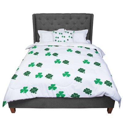 Shamrockin St. Patrick Comforter Size: King