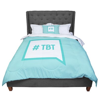 Throw Back Thursday Comforter Size: King