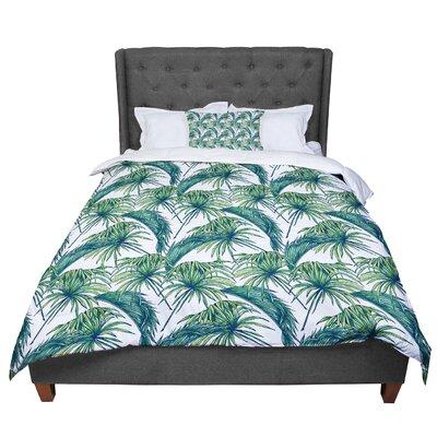 Palmtastic Nature Comforter Size: King