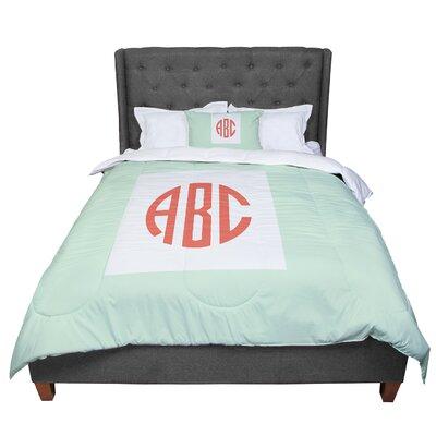 Classic Monogram Comforter Size: King