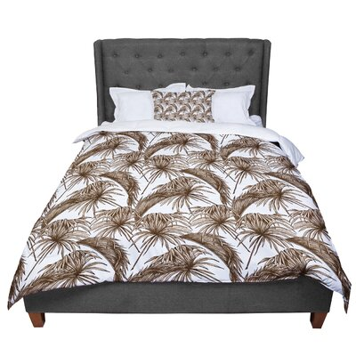Palmtastic Abstract Comforter Size: Queen