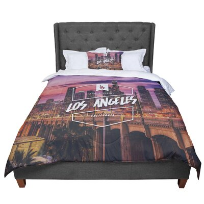 Los Angeles ll Comforter Size: Twin