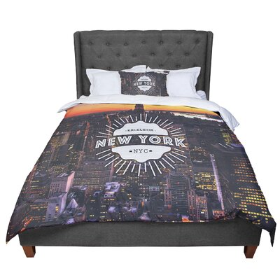 New York Comforter Size: Queen