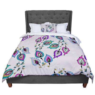Louise Leave Comforter Size: Queen