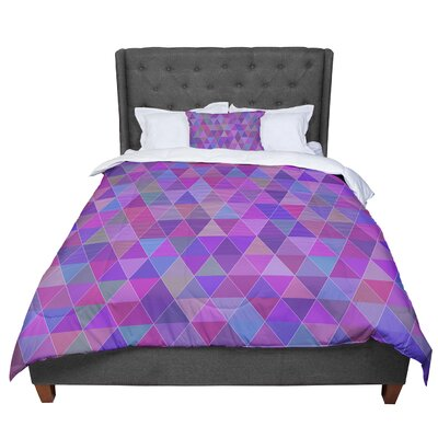 Louise Abstract Comforter Size: Twin