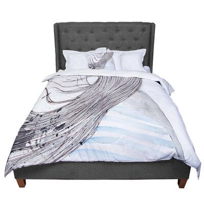 Louise Breeze Comforter Size: Queen