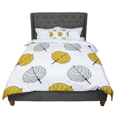 Laurie Baars Quaking Leaf Comforter Size: Twin