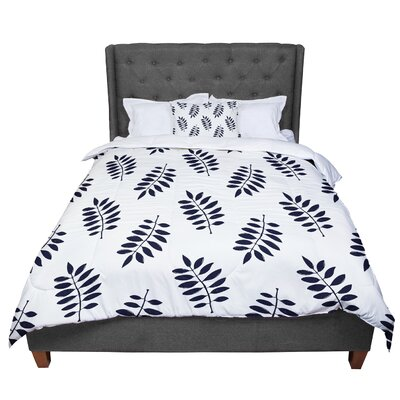 Laurie Baars Pagoda Leaf Small Comforter Size: Twin