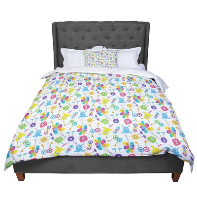 Laura Escalante Fun Creatures Comforter Size: Queen