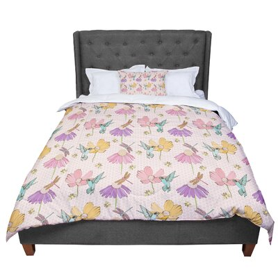 Laura Escalante Magic Garden Comforter Size: King