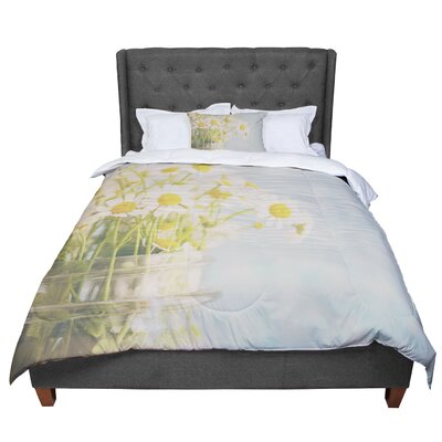Laura Evans O Daisy Comforter Size: Twin
