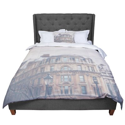 Laura Evans London Town Comforter Size: King