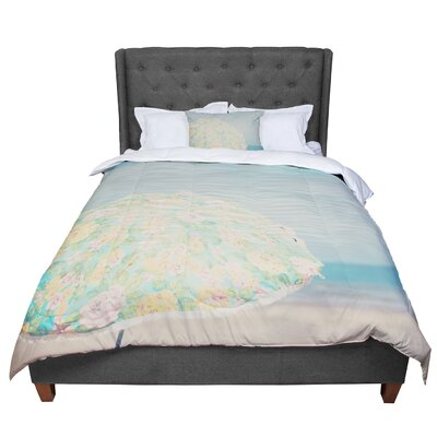 Laura Evans a Summer Afternoon Comforter Size: Twin
