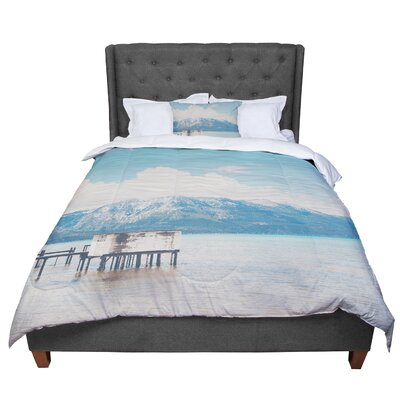 Laura Evans Down by the Lake Comforter Size: Queen