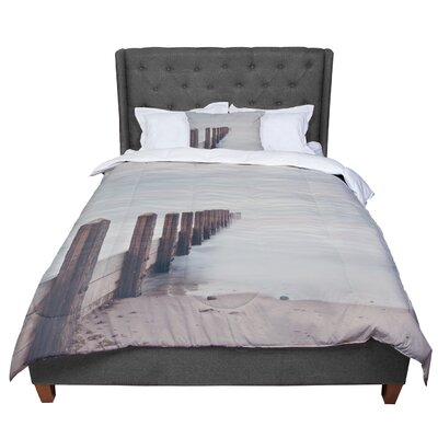 Laura Evans Brush Strokes Comforter Size: Twin