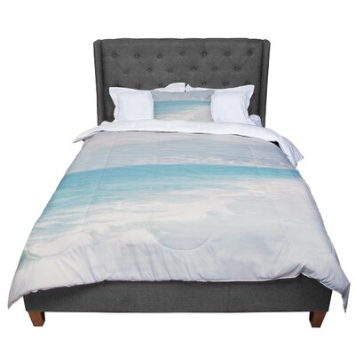 Laura Evans Waves Comforter Size: Twin