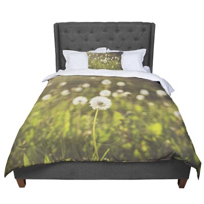 Libertad Leal as You Wish Dandelions Comforter Size: Queen