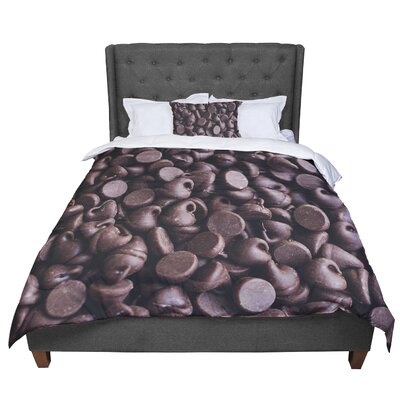 Libertad Leal Yay! Chocolate Candy Comforter Size: King