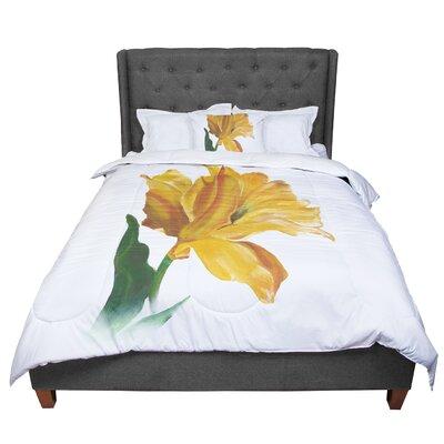 Lydia Martin Tulip Comforter Size: King